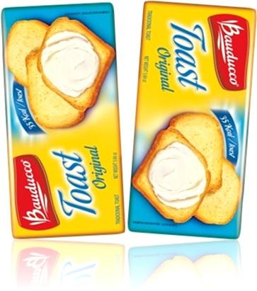 torrada bauducco toast original, torradas com queijo cremoso