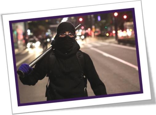 agent provocateur, agente provocador, black block