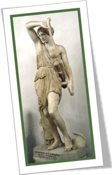 estátua, escultura, mármore, amazona ferida fídias, museus capitolinos, roma