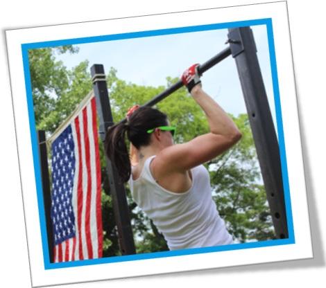 musculação, pull-ups, chin-ups, barra fixa, exercícios, costas, mulher, bandeira dos estados unidos