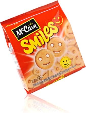 batatas congeladas smiles mccain, smile icons, lanche, petisco