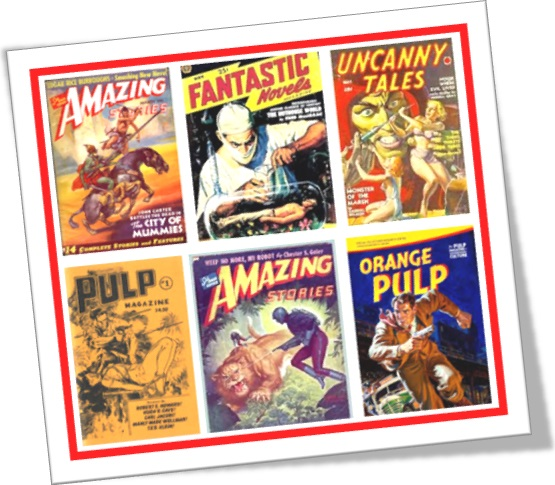 covers of the pulp magazines, revistas antigas, literatura popular