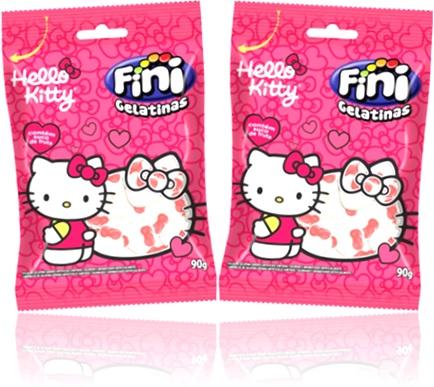 gelatinas hello kitty mundo fini, doces, guloseimas, confeitos