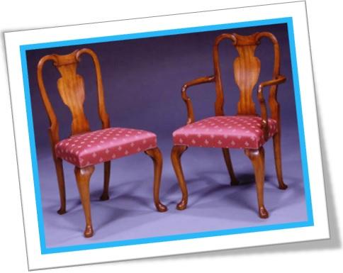 vase splat chairs, cadeiras de encosto de vaso de flores