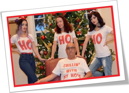 ho ho ho chilling with my hos, ho an offensive word for a woman