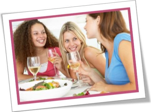 kith and kin, amigas almoçando, mulheres no almoço