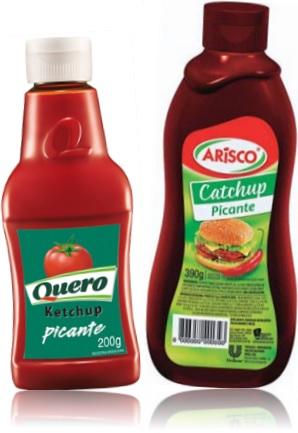 ketchup picante quero, catchup picante arisco, diferenças entre ketchup catchup