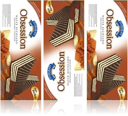 biscoito wafer recheado obsession itamaraty