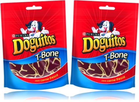 t-bone doguitos purina carne fresca, ração, alimento, cachorro