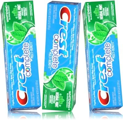 creme dental crest, pasta de dente crest, gel dental crest