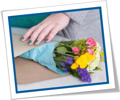 kraft paper, papel pardo, bouquet, buquê, artesanato, arranjo de flores
