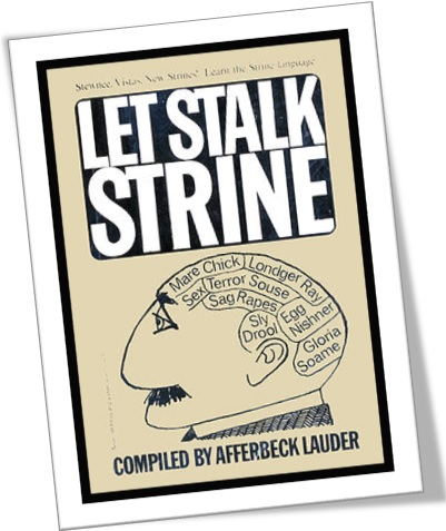 ingles australiano, livro let stalk strine compiled by afferbeck lauder