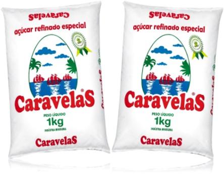 açúcar refinado especial caravelas
