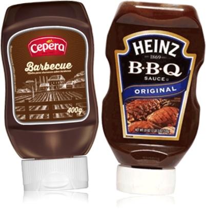 molho barbecue cepera, sauce bbq heinz