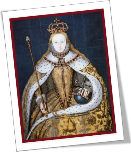 elizabeth I in her coronation robes, línguas inglesas, east india company