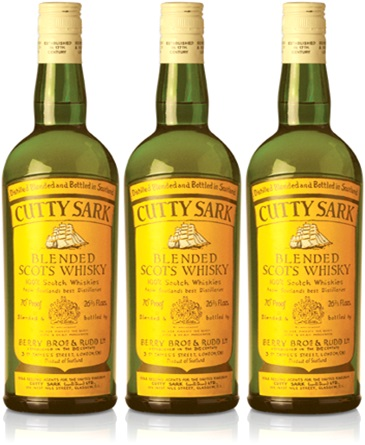 uísque escocês, cutty sark blended scots whisky