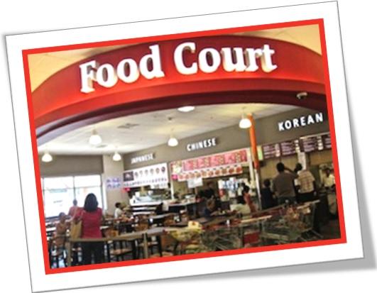 food court praça de alimentação vocabulário inglês para restaurantes