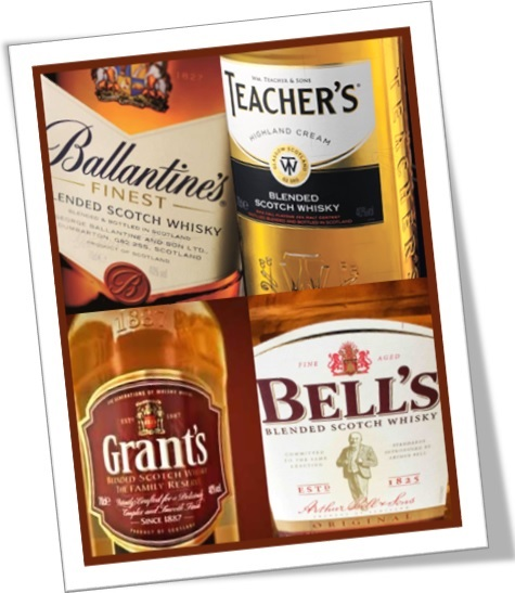 exemplos de apóstrofos, garrafas de whisky ballantines teachers grants bells