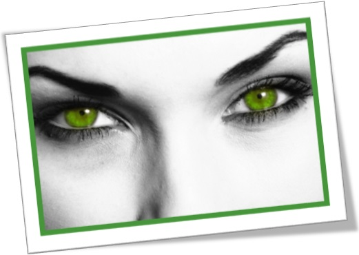 green eyed monster, be green with envy, morrer de inveja