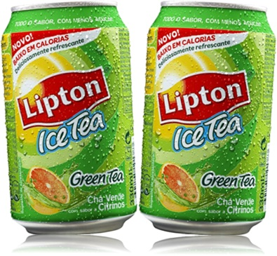 lipton ice tea sabor green tea chá verde