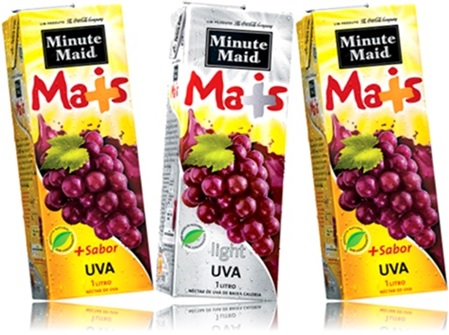 sucos minute maid mais sabor uva, the coca cola company