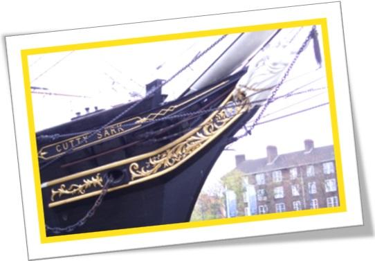 navio museu, veleiro cutty sark, bruxa nannie