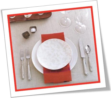 vocabulário inglês para restaurantes bares lanchonetes place setting arrumação de mesa