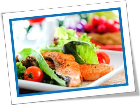 degustation, degustar, degust, degustação, salmão e salada