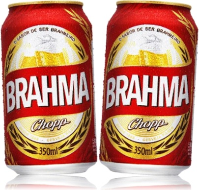 latas de cerveja brahma chopp 350 ml chope da brahma brahmeiros