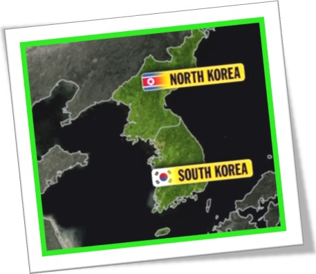 coreia do norte, coreia do sul, north korea, south korea, map