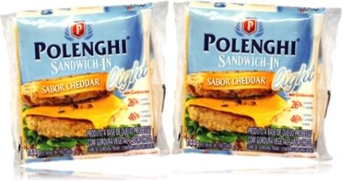 silent letter sandwich in polenghi sabor cheddar