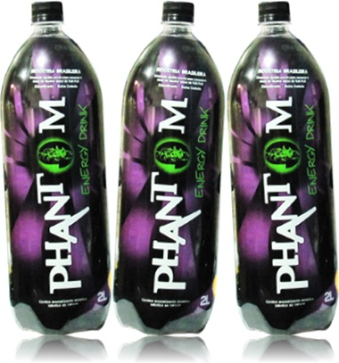 phantom energy drink bebida energética phantom garrafa pet