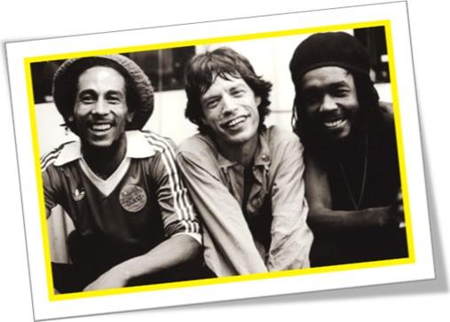 reggae, jamaica, bob marley, mick jagger, peter tosh, inglês jamaicano