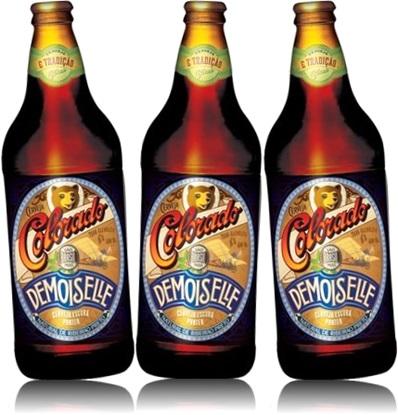 garrafas de cerveja escura porter colorado demoiselle, bebida, brazilian beer