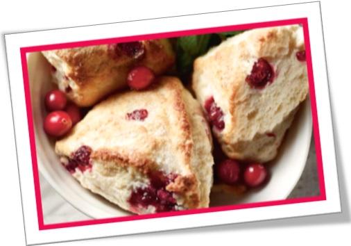 cranberry scone, bolinho de oxicoco, bolo de cranberry, bolo, lanche