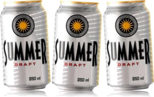 chope, chopp, latas de cerveja kaiser summer draft, chope