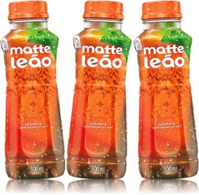 chá matte leão natural, bebida, refresco, erva mate