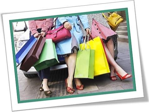 go on a shopping spree, farra de compras