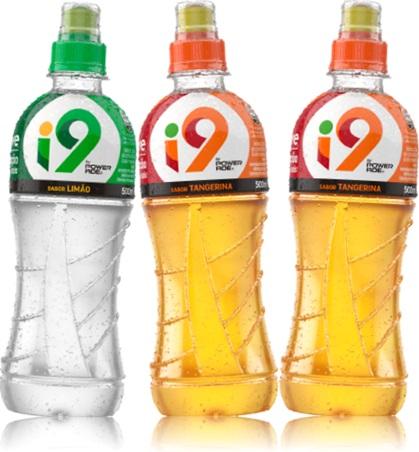 hidrotonicos i9 coca cola powerade sabores limão tangerina