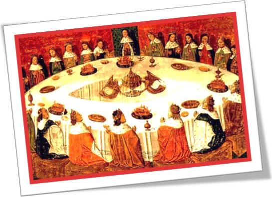 rei artur, cavaleiros, tavola redonda, king arthur, knights, round table