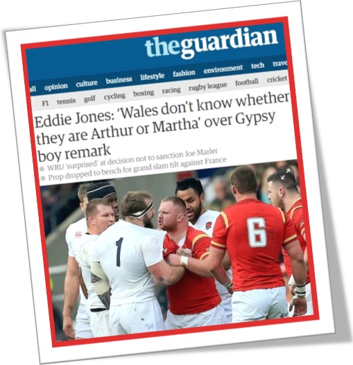 wales dont know whether they are arthur or martha, the guardian