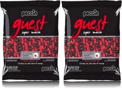 guest balas super macia peccin sabor morango