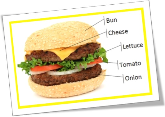 hamburger, bun, cheese, lettuce, tomato, onion, burger, hambúrguer