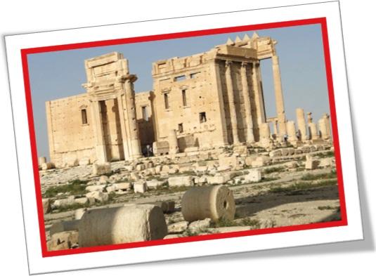 temple of bel, temple of baal, templo de bel, templo de baal, síria, palmira