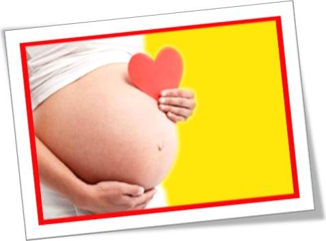 barriga de mulher grávida, barrigão de gravidez, coração de papel, mãe