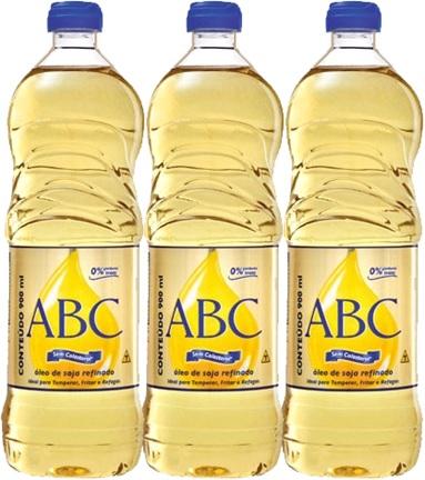 óleo de soja refinado abc de minas inco, alfabeto