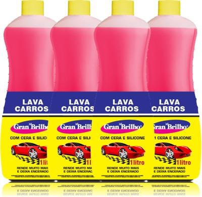 shampoo, lava carros gran brilho, cera, silicone, mackerduz