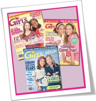 pre-adolescência, preteen magazines, revistas para meninas pre-adolescente