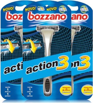 bozzano, aparelho lâmina barbear, action, barba, bigode, barbeador