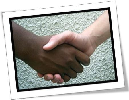 as firm as a vice, firme como uma rocha, handshake